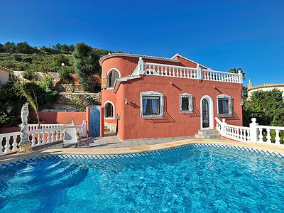 Photo for Vacation home Esperanza in Moraira - 8 persons, 4 bedrooms