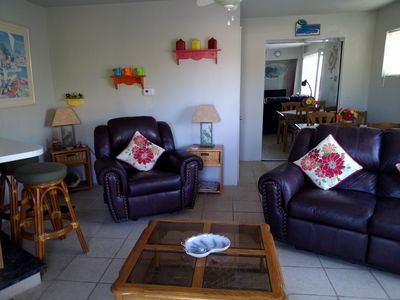 Photo for 2 bed/3 bath within a few steps of the beach and walking distance of the town