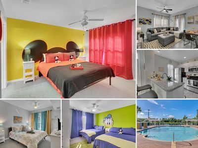 Photo for 4BR Luxury home, Themed rooms - 10 min to Disney