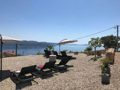 Photo for Holiday apartment Brsec for 4 - 6 persons with 2 bedrooms - Holiday apartment in a villa