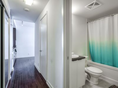 Photo for 30th+ floor lake and CN Tower view 2 bedroom condo