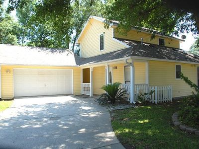 Photo for Gulf Coast Vacation Home ~ Minutes from the Beach ~ Pet Friendly w/ Yard!