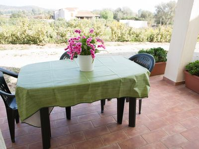 Photo for Three-room apartment 4 Torre di Barì, on the sea, with covered veranda, two bedrooms