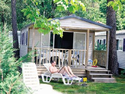 Photo for Camping Le Vieux Port ***** - Cottage 4/5 People