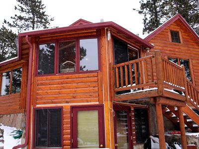 Photo for Mountain Masterpiece - Beautiful cabin on 2.2 acres at Wildbasin