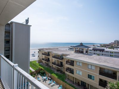 Photo for PT608 - Family Friendly ocean view 2/2 condo - Walk to shopping/dining