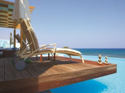 Photo for Presidential Beach Villa Sea View with Personal Pool (350 sqm) inc 3 bedrooms sleeps upto 6 people