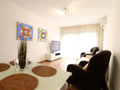 Photo for Nice apartment in the heart of Salou. Air-conditioned and close to the beach