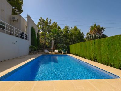 Photo for Lavish Villa by the Golf Grounds in Altea with Indoor Heated Pool