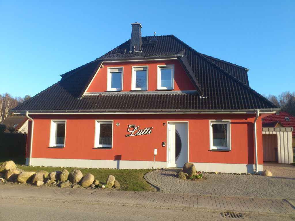 Holiday home on the baltic sea for 8 persons barrier free for Barrier free homes