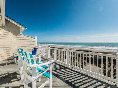 Photo for Searenity: 4 BR / 4 BA condo in Surf City, Sleeps 12