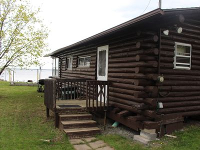 Photo for Cozy Log Cabin on Lake Champlain - Beautiful Views - has 3 bedrooms