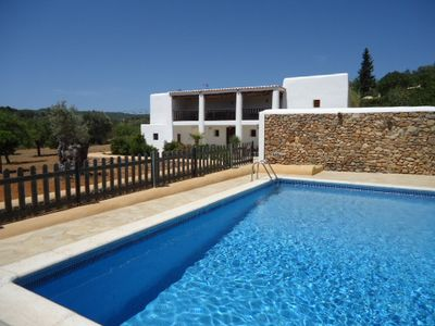 Photo for Large Well Priced Villa & Garden with View by village, Great for Family & Friend