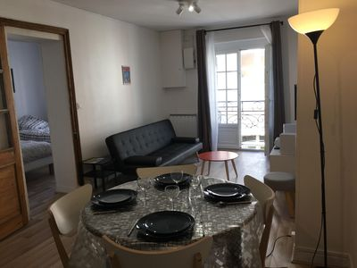 Photo for LARGE DUPLEX WITH INTERNET IN THE DOWNTOWN 5 MINUTES AWAY FROM THE BEACH