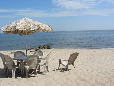 Photo for Waterside, Great Views, Sits On Private Sandy Beach
