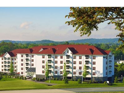 Photo for Suites at Hershey 2BR/2BA suite w/ fireplace, full kitchen, indoor/outdoor pool