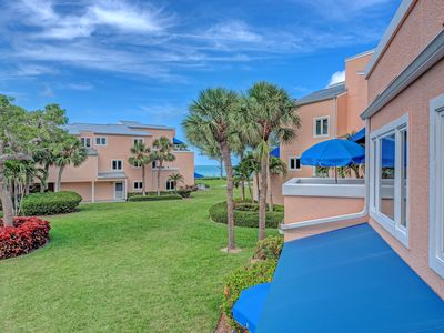 Photo for Unit #208 Sand Cay Beach Resort Pool and Garden View