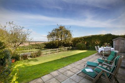 Garden and Terrace with lovely countryside views