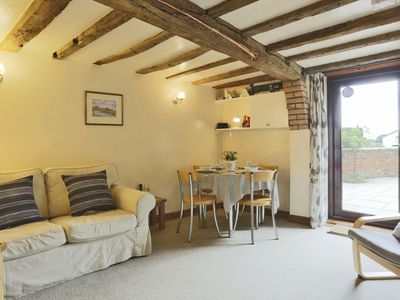 Photo for Beams and masonry provide Alde End Cottage with a lot of charm