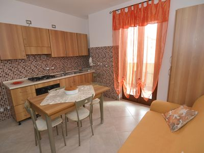 Photo for Murena apartment in Alghero with WiFi, integrated air conditioning, balcony & lift.