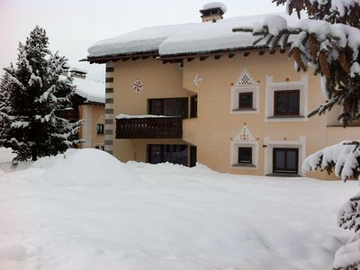 Photo for Holiday apartment La Punt-Chamues-ch for 5 - 6 persons with 3 bedrooms - Holiday apartment