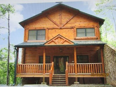Photo for Come stay close to downtown Gatlinburg July 26th to  Aug 8th open book now
