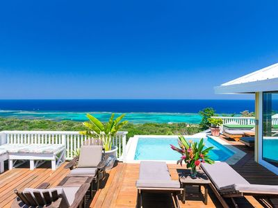 Photo for Spectacular Sea Views, Sunsets And Cooling Trade Winds.