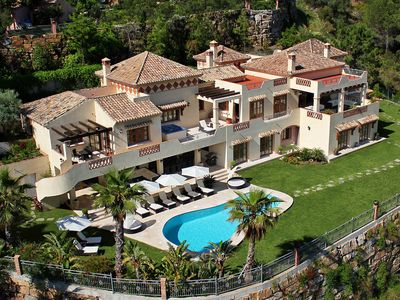 Photo for Luxury Private 7-Bed Villa, with Indoor Pool, Bar & Spa in Marbella Area