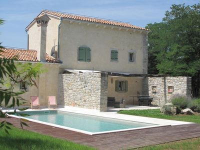 Photo for Refurbished Stone House With a Pool in Central Istria
