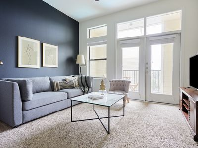 Photo for Sonder | Haven at Main | Dashing 1BR + Balcony