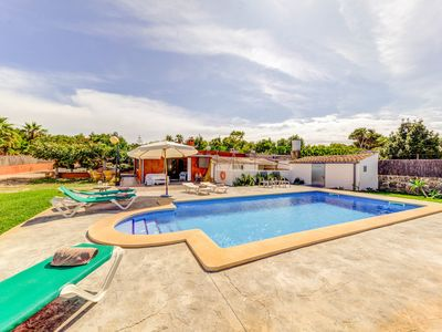 Photo for Villa Calafat: Large Private Pool, A/C, WiFi