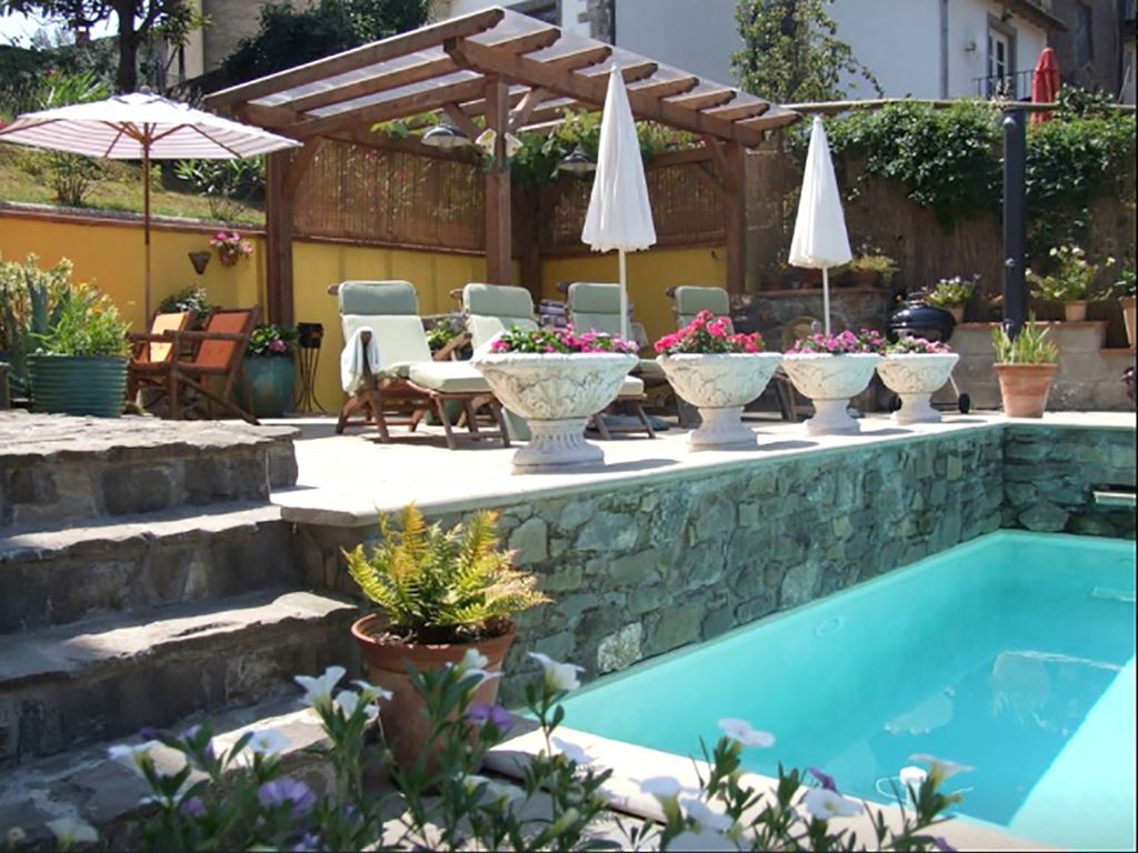 detached stone house with private plunge homeaway bagni di lucca