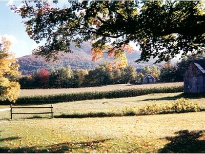 Photo for Charming house w/ Mountain Views surrounded by open fields, near town, Danby VT