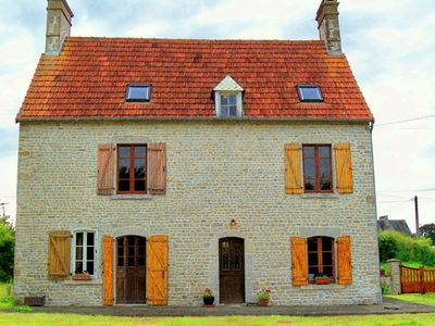 Photo for Beautiful Stone Farmhouse close to Normandy beaches