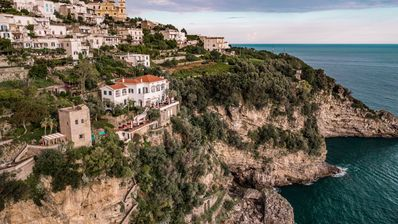 Photo for All-inclusive Luxury Villa located on the Amalfi Coast, moments from Positano