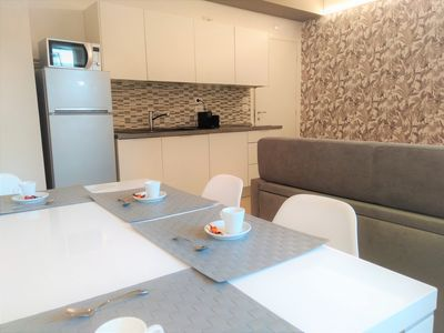 Photo for Quiet and comfortable apartment in the historic center near the station