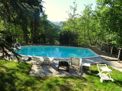 Photo for Restored 17th century sheepfold with large grounds and private pool