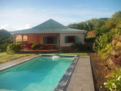 Photo for CHARMING CREOLE VILLA WITH SWIMMING POOL