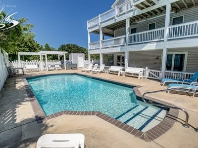 Photo for Villa Del Sol | 1190 ft from the beach | Dog Friendly, Private Pool, Hot Tub