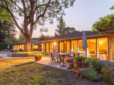 Photo for North Palo Alto home with pool near Stanford Univ.