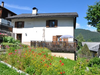 Photo for Biker holidays in Davos meadows, cozy cottage 5 pers. Many free dates