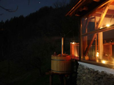 Photo for Luxury chalet with PrivateSpa in a secluded location