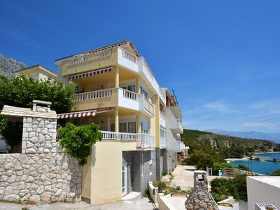 Photo for One bedroom apartment with balcony and sea view Lokva Rogoznica, Omiš (A-13226-b)