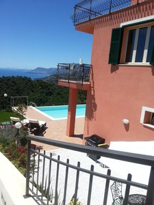 Photo for Spacious villa above Ventimiglia, close to  Monaco, Cote d'Azur And San Remo