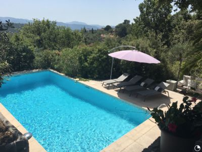 Photo for NEW! Charming Provencal-style villa with panoramic views near historic villages
