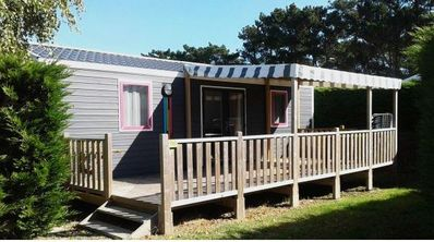 Photo for Camping L'Océan ***** - Cottage Grand Confort TV 3 rooms 4 people 2 bathrooms