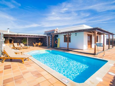 Photo for A1 Casas Y Villas juani y juan lanzarote (tomaren) Free WiFi