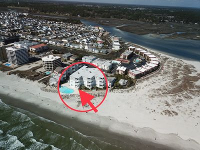 "Photo for ""Paradise at the Pointe"" Cherry Grove,SC Oceanfront, 1st floor, end unit"