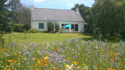 Photo for Quiet country house south Brittany at 30 min. of the sea