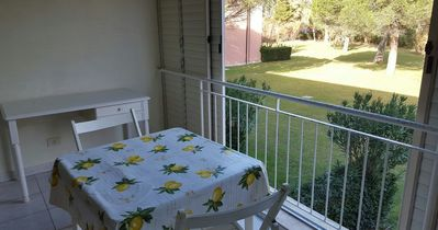 Photo for Residence with garden, swimming pool, 300 meters from the sea